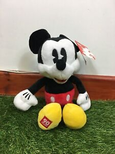 VERY-RARE-LICENSED-DISNEY-MICKEY-MOUSE-90th-ANNIVERSARY-PLUSH-TOY