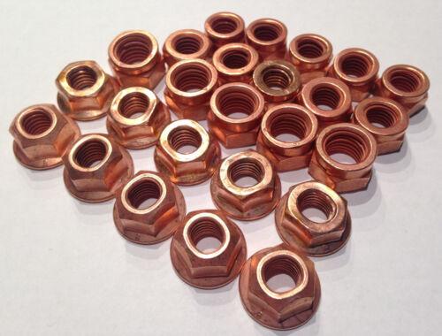 5  Typen Kupfermutter M10 SET Satz /> 25 Stück Kupfermutter M8