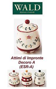 Barattolo cucina porta spezie 25cl,Attimi di Impr.,decorato a mano ...