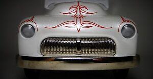 Ford-Mercury-Pedal-Car-1950-Chopped-Hot-Rod-Metal-Collector-gt-gt-gt-READ-DESCRIPTION