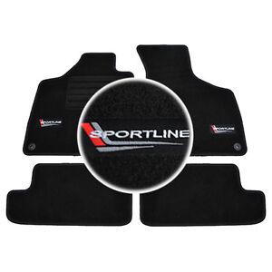 Tapis Sol Audi Tt 8j 2006 2014 Quattro S Line Moquette Logo Sport