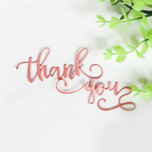 Brief greeting words thank you metal cutting dies diy photo album image is loading brief greeting words thank you metal cutting dies m4hsunfo