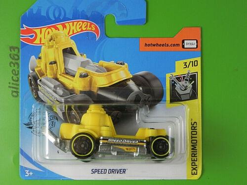 Hot Wheels 2020-Speed Driver-experimotors 77-nuevo en caja original