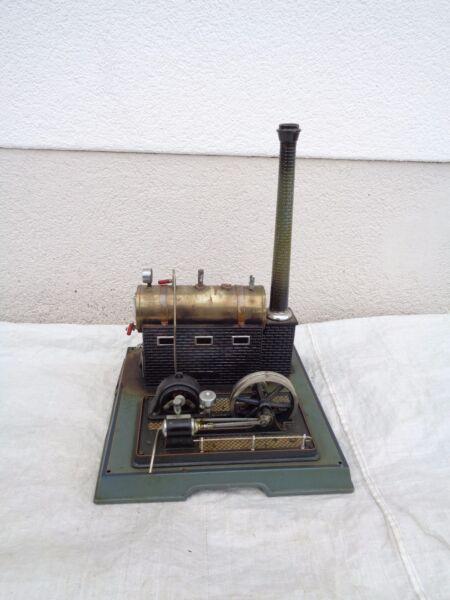 Alte Dampfmaschine Märklin Mit Traditionellen Methoden