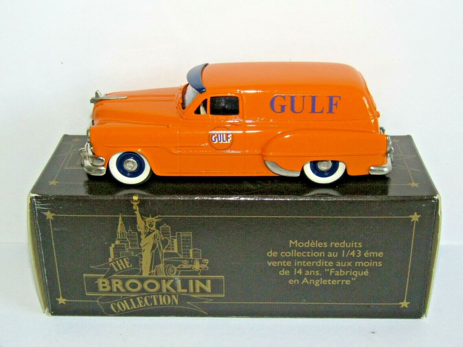 Brooklin models 1953 PONTIAC SEDAN DELIVERY GULF OIL 1 43 BRK 31