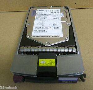 Compaq-ultra 3 36.4 Go 15k Scsi Disque Dur-bf03664664 + Enfichable à Chaud Caddy 235065-002-afficher Le Titre D'origine