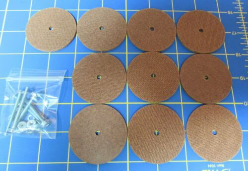 For Jointed Teddy Bear = 10 – 2 Hard Board Discs – with Tap Bolt Set