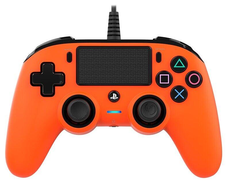NACON Controller Wired Orange PS4 PLAYSTATION 4 PS4OFCPADORANGE NACON
