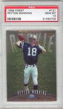 Peyton Manning Broncos 1998 Topps Finest #121 Rookie Card rC PSA 10 Gem Mint QTY