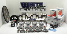 SBC 383 CHEVY ROTATING ASSY 4.030 BORE MAHLE FLATTOP PISTONS H-BEAM RODS 2PC RMS