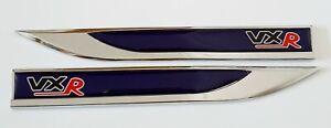 Insignia-Vxr-Emblema-Pegatina-Ala-Fender-Metal-Oscuro-Azul-Astra-Corsa-Todos-Los-Modelos