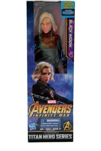 Hasbro Marvel Avengers Infinity War Titan Hero Series Black Widow