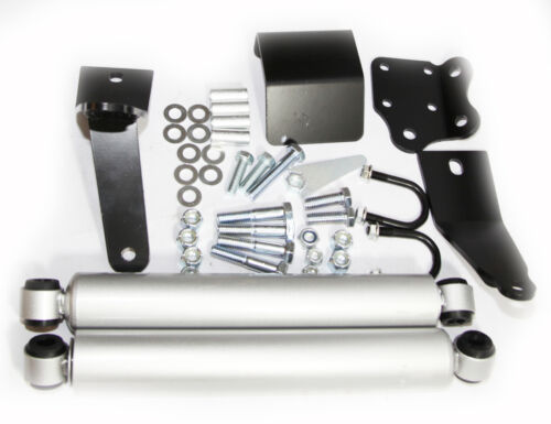 Dual Steering Stabilizer fits 2003-2012 Dodge Ram 2500// Ram 3500 4WD