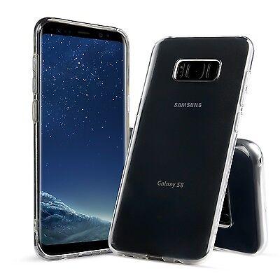 Samsung Galaxy S8 / S8 P / S9 / S9 Plus Premium Quality Clear Bumper Case Cover