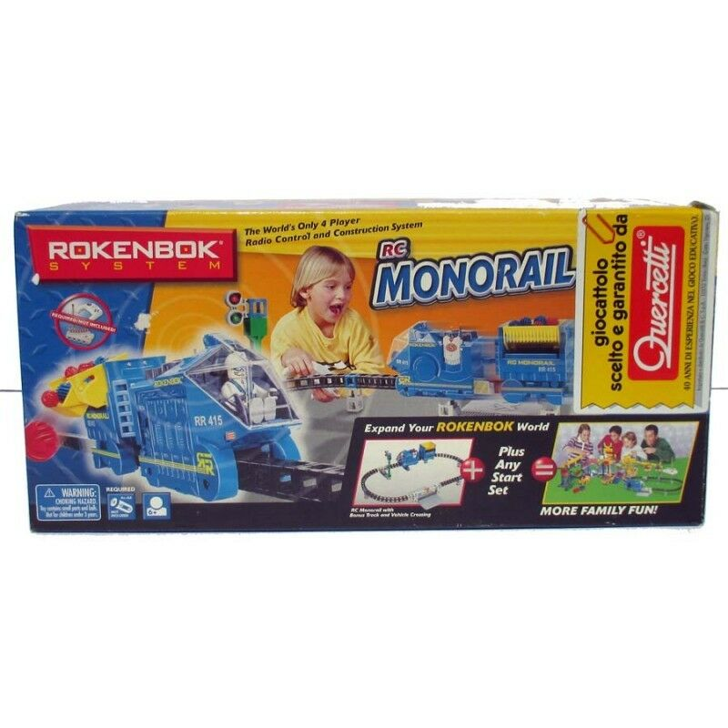 Rokenbok Sistem RC Monorail 43 pieces family fun world construction 06224