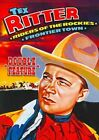 Riders of The Rockies Frontier Town 0089218524898 With Tex Ritter DVD Region 1