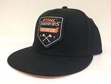 original STIHL Timbersports Cap Basecup schwarz Baseball Cap 0464 021 0084