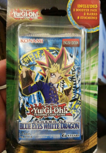 LOB Booster Pack Factory Sealed! X1 Yugioh Legend Of Blue Eyes White Dragon