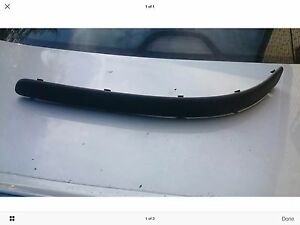 FRONT BUMPER MOULDING  LH SECT BMW 5 SERIES E39 19952000 WO HOLES - <span itemprop=availableAtOrFrom>canvey Island, Essex, United Kingdom</span> - FRONT BUMPER MOULDING  LH SECT BMW 5 SERIES E39 19952000 WO HOLES - canvey Island, Essex, United Kingdom