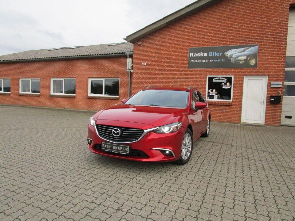 Mazda 6 2,2 SkyActiv-D 150 Vision stc. Diesel modelår 2015