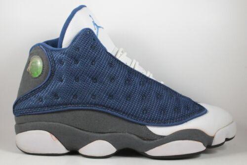 2005 Nike Air Jordan 13 XIII Retro Flint Grey Blue