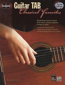 Acheter Pas Cher Basix Guitar Tab Classique Favoris Music Book/2cds Tablature & Notation-afficher Le Titre D'origine De Bons Compagnons Pour Les Enfants Comme Pour Les Adultes