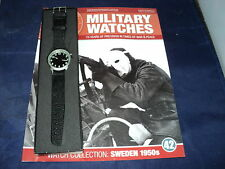 Eaglemoss Military Watches  Issue 42 - Swedish Soldier's Watch 1950s