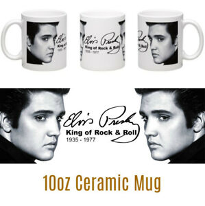 Elvis-Presley-10oz-Ceramic-Mug-Elvis-fan-gift-Christmas-Birthday-Music-Legends