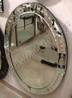 Chic Large Frameless Beveled Mirrored Edge Wall Mirror Ebay