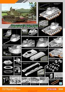 Dragon-3544-1-35-M48A3-Mod-B-tank