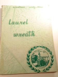1963 The Laurel Wreath Yearbook, Lancaster Mennonite School, Lancaster, PA)
