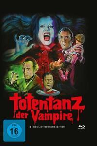 Totentanz di vampiri-Uncut [Blu-Ray + DVD nel Limited MediaBook/Nuovo/Scatola Originale]
