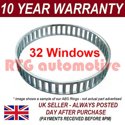 2X FOR JAGUAR X-TYPE 32 WINDOW 82MM ABS RELUCTOR RING DRIVESHAFT CV JOINT AR1201