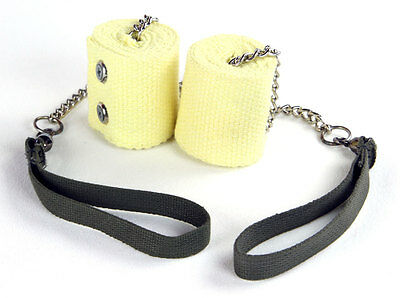 """2/"""" Kevlar Twisted Link Chain Swivel Trick Concepts Cathedral Fire Cathedral Poi"""