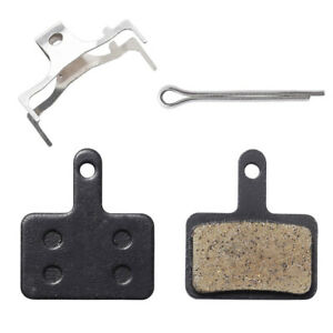 4 pieces Bicycle Resin Disc Brake Pads For Shimano M355 M375 M395 M415 2 Pairs