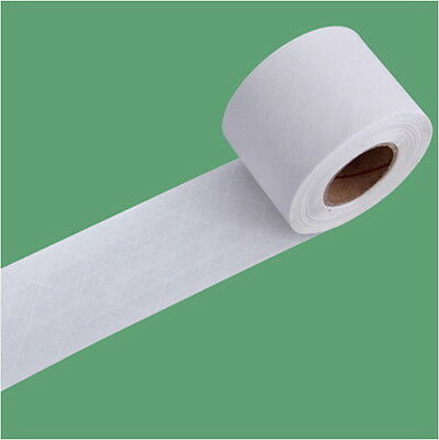 "White Kraft Paper Tape  2"" x 130ft WAT Gum Reinforcing rib Fiber Water-Activated"