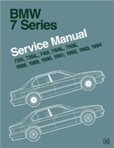Bmw Service Repair Manual 7 Series E32 E38 E65 E66 For Sale Online Ebay