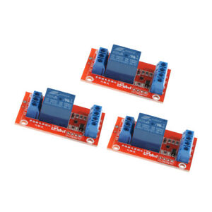 3Pcs-3V-1-Channel-Relay-Board-Module-Optocoupler-LED-for-PIC-ARM-AVR