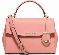 MICHAEL Michael Kors Ava Saffiano  Leather Small NS Satchel Shoulder $298