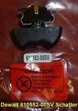 1x DeWALT 610552-00SV Schalter für DC 800 KL und DW 059 KB Akku Schlagschrauber
