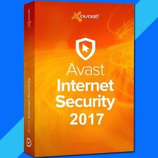 Avast Internet Security 2017 | 2 Year | 3 Users | 3 PCs | Windows
