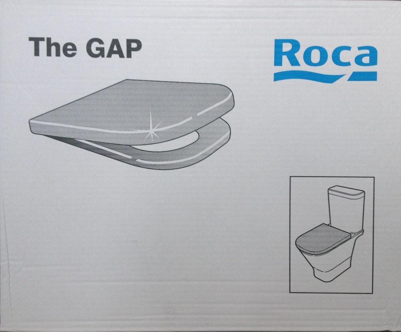 Roca le fossé toilette siège et couvercle retrait facile et souple fermeture charnières A80148200U