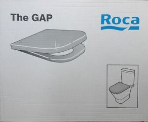 Roca The Gap Toilet Seat Amp Cover Easy Release And Soft