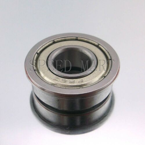 "MR6 3//8/"" x 7//8/"" x 9//32/"" Metal Shielded  Flanged  Ball Bearings 10 pcs FR6zz"