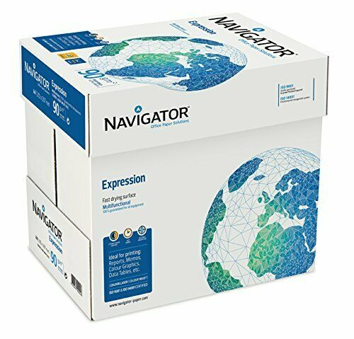 2500 Blatt Navigator Expression Inkjet Kopierpapier 90g//m² A4 Papier Premium