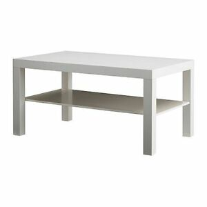 Image Is Loading Modern Lack Side Coffee Table White TV Stand