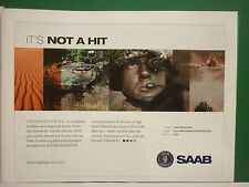 6/2008 PUB SAAB SYSTEMS DEFENSE TECHNOLOGIES LEDS COMBAT VEHICLE MOWAG ADVERT
