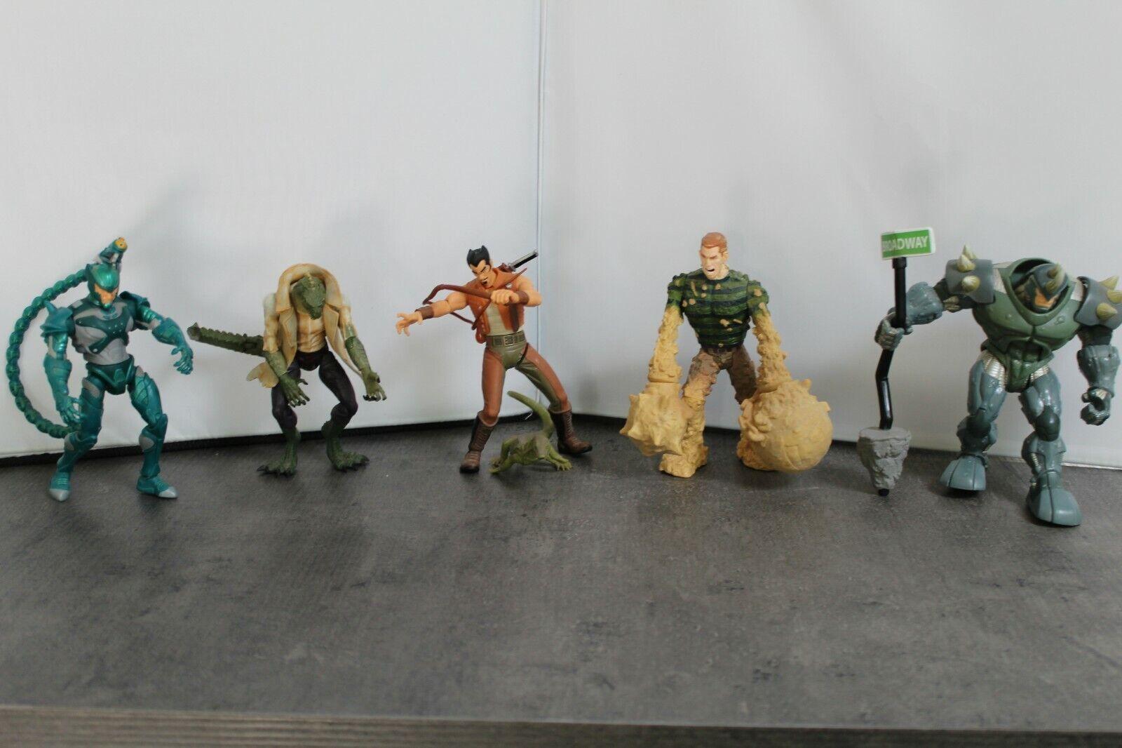 Lizard, Rhino, Kraven il Cacciatore, Seuomo e SCORPION 5 cifra