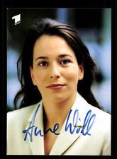 Anne Will ARD Autogrammkarte Original Signiert # BC 73414