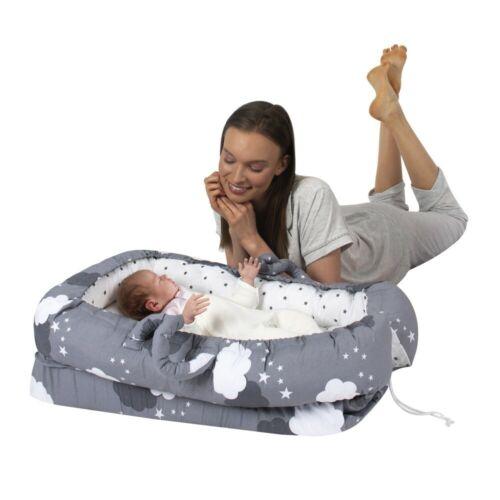 Babynestchen Anti Reflux Babybett Keilform Babynest Reisebett Kokon Wolke M:273